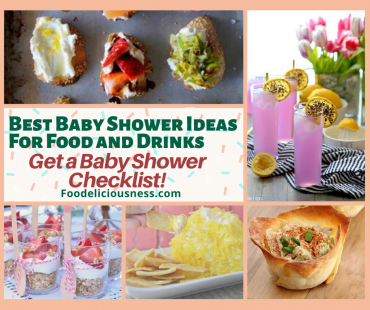 Best Baby Shower Ideas for Food and Drinks