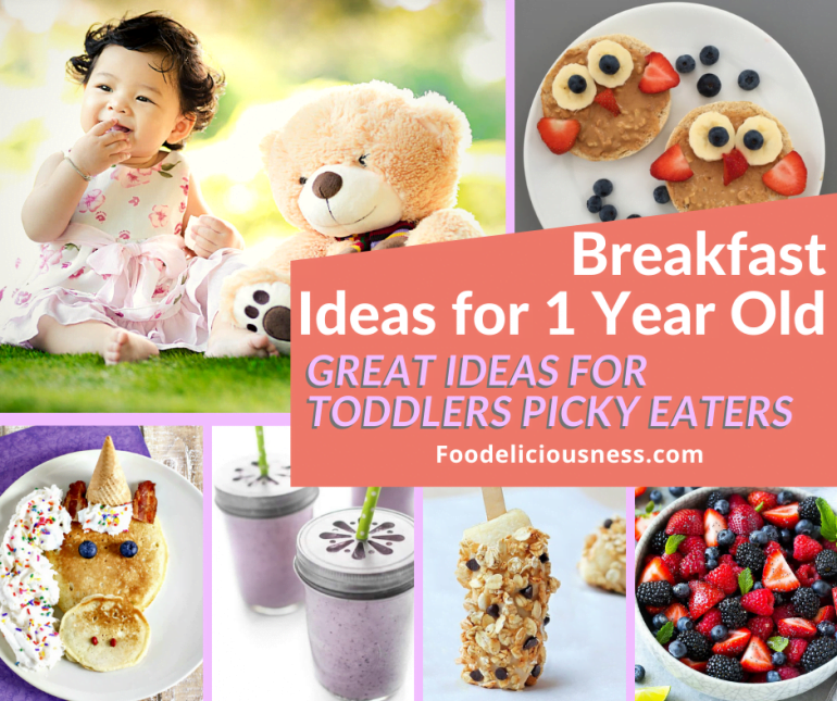 Breakfast Ideas for 1 Year Old