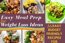 EASY MEAL PREP FOR WEIGHT LOSS IDEAS