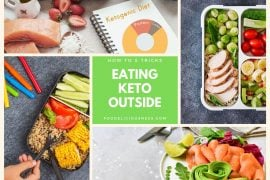 Eating keto outside How to and tricks FEAT