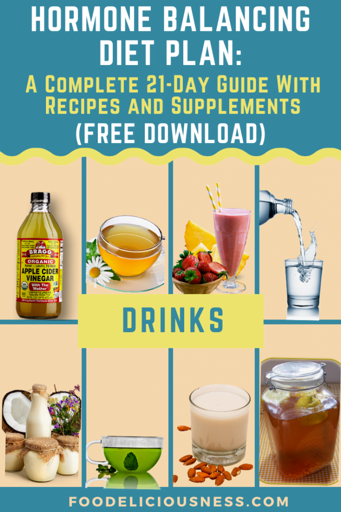 Hormone Balancing Diet Plan drinks