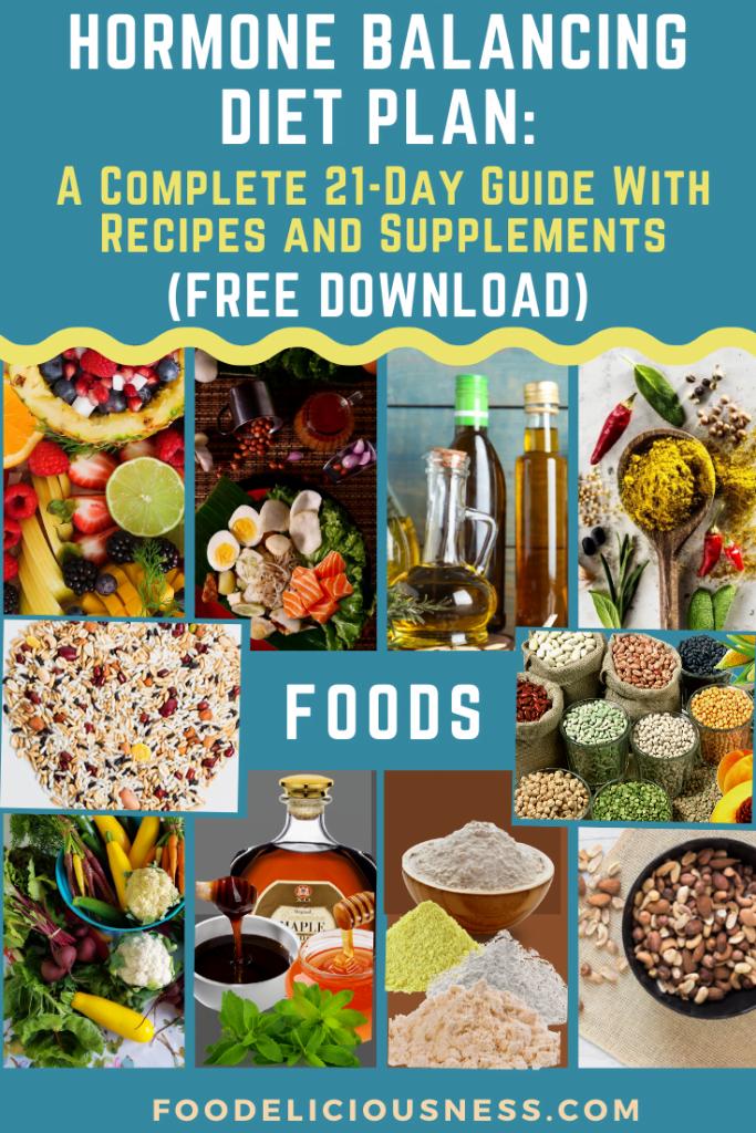 Hormone Balancing Diet Plan foods