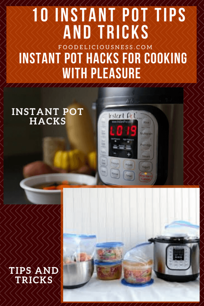 Instant Pot hacks and tips and tricks
