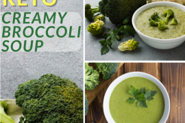 KETO CREAMY BROCCOLI SOUP 3