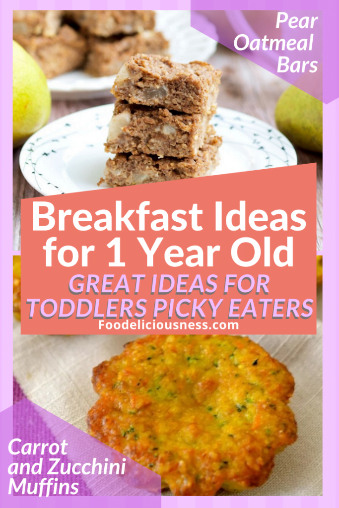 Pear Oatmeal Bars and Carrot and Zucchini Muffins