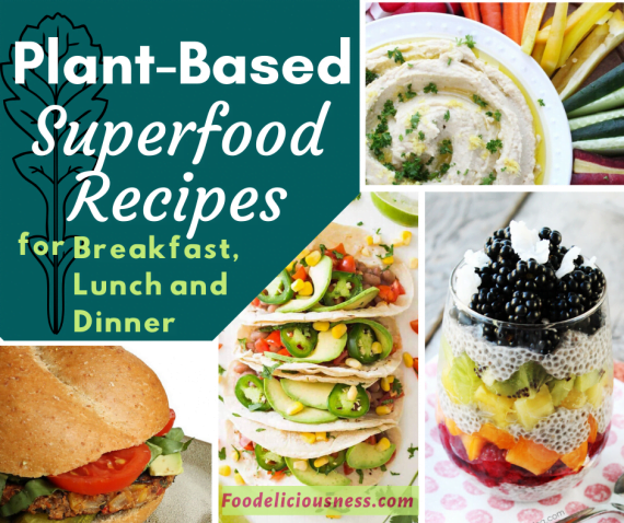 Plant based Superfood recipes