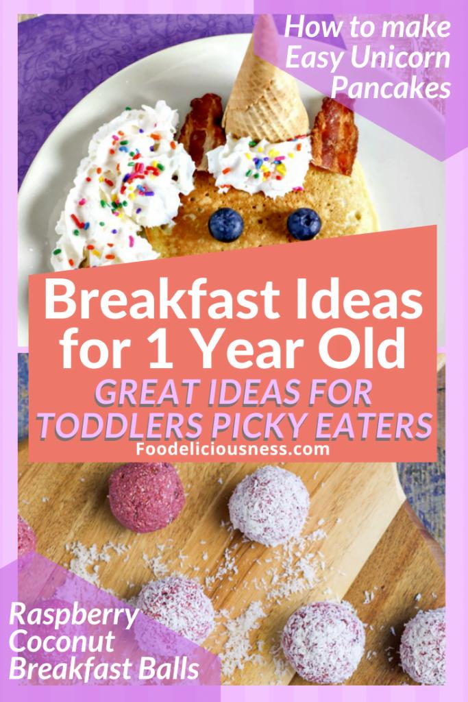 Unicorn Pancakes and Raspberry coconut breakfast balls