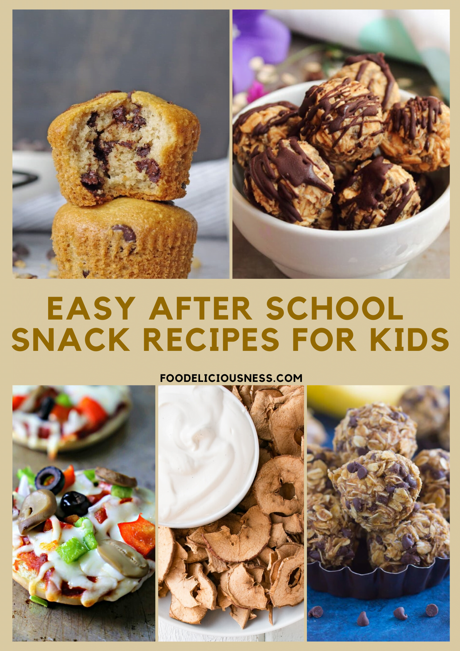 Going back to school is always a great joy for the kids, but also a topic for you on how to provide them with nutritious and healthy meals on a daily basis. So, if you looking for some easy after school snack recipes for kids, we have here a collection of a few really good ideas. With these simple and great recipes, you will delight them. #afterschoolsnackrecipesforkids #afterschoolsnackrecipeshealthy #easysnackrecipes @foodeliciousness