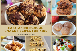 easy after school snack recipes for kids cover