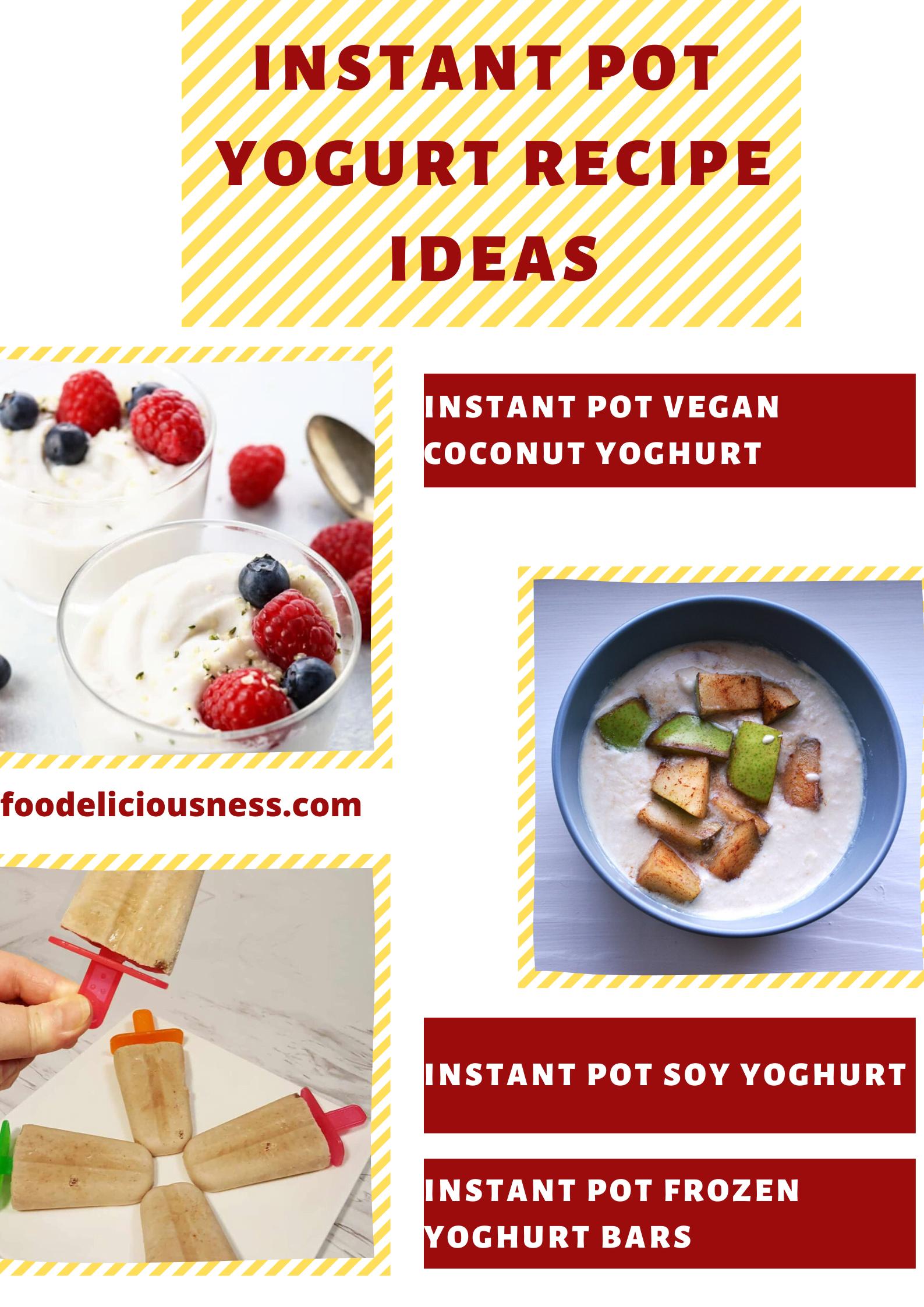 instant pot yogurt recipe ideas 3