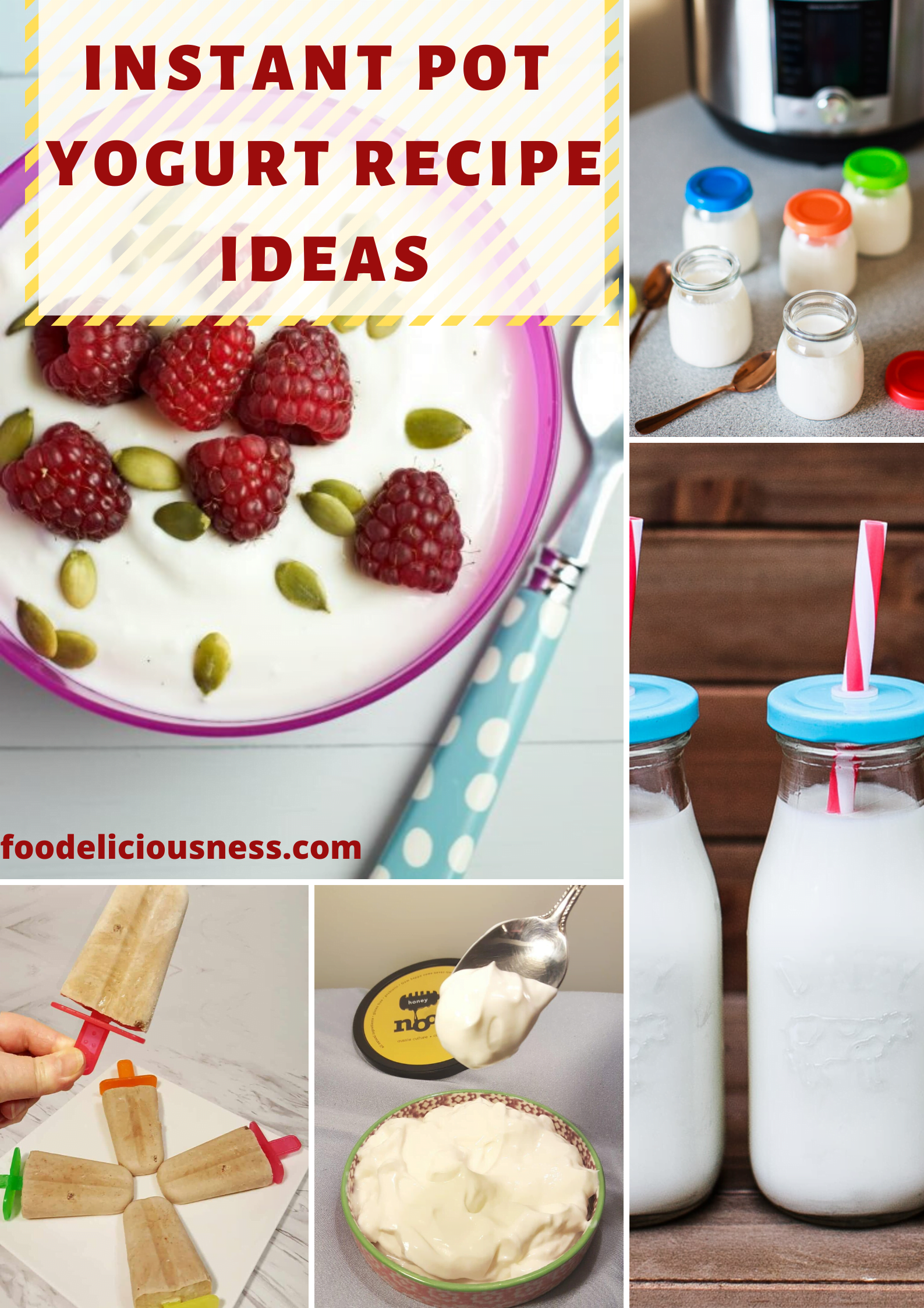 Have you ever tried to make yogurt in instant pot? Delicious and healthy yogurt is always a good idea if you\'re a healthy diet supporter. It is cheaper, the taste of homemade yogurt is awesome and it is a very simple and quite exciting process. #instantpotyogurtrecipegreek #instantpotyogurtrecipedairyfree #instantpotyogurtrecipeideas @foodeliciousness