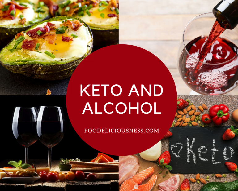 keto and alcohol featured
