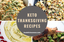 keto thanksgiving recipes cover