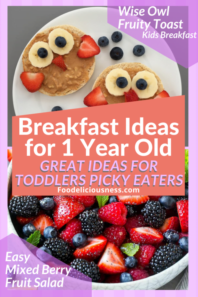 wise owl fruity toast and Easy Mixed berries fruit salad