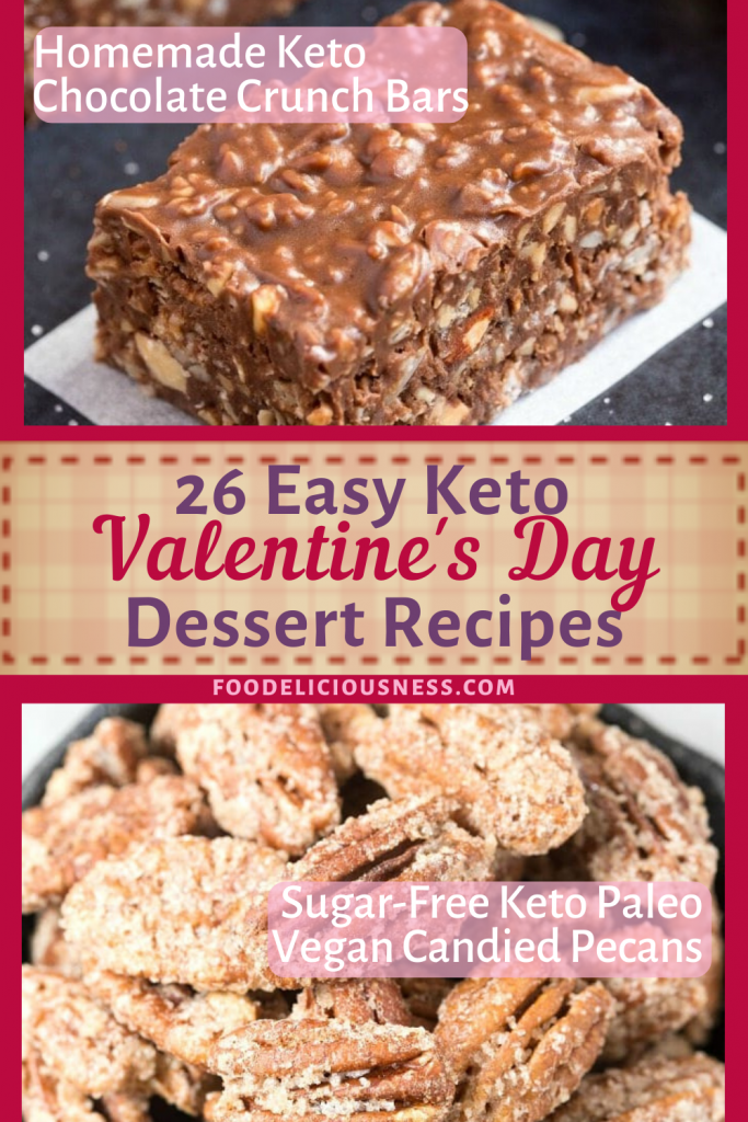 Keto Crunch Bars and Sugar free Candied Pecans