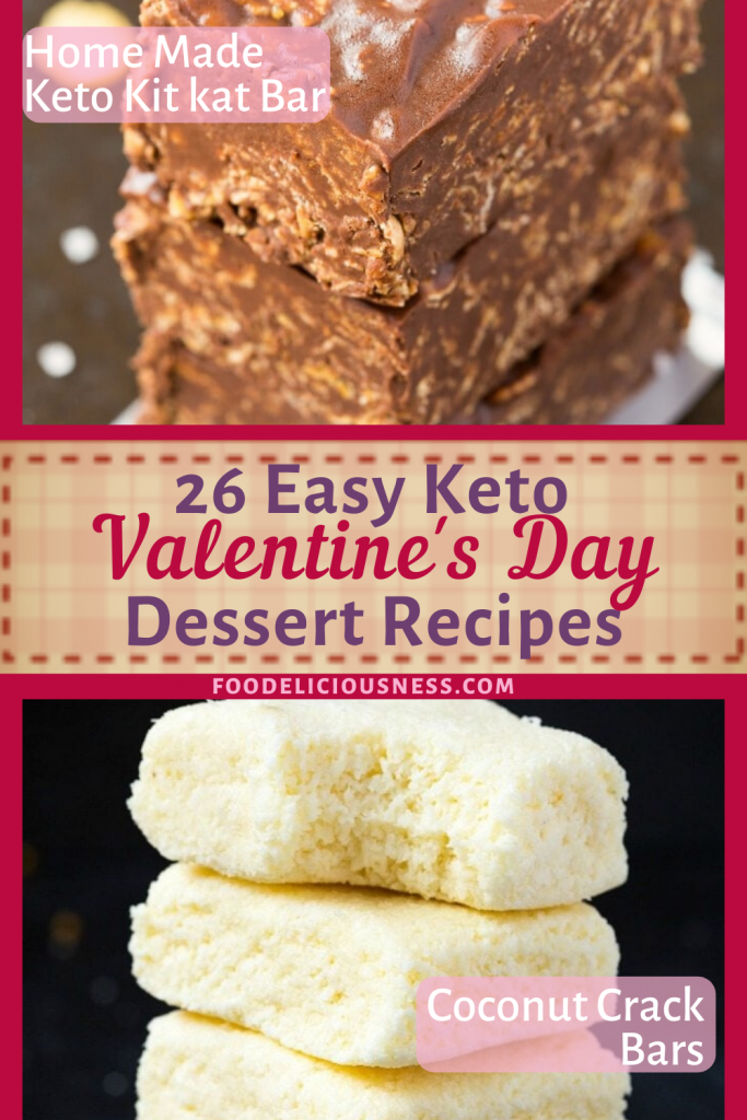 Easy Keto Valentines Day Dessert Keto Kitkat Bars Coconut Crack Bars