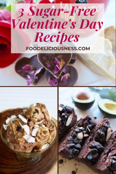 These 3 Sugar-Free Valentine\'s Day Recipes are indeed so perfect for you and your partner if you are looking for really special recipes and at the same time, will also fit your diet plans. and if you are avoiding sugars.Furthermore, these recipes below feature all-natural, sugar-free, and lifestyle-friendly (Keto, Diabetic, Candida) Lakanto products that are sweetened with monk fruit. #sugarfreevalentine\'sday recipes #sugarfreerecipes #valentine\'sdayrecipes @Foodeliciousness