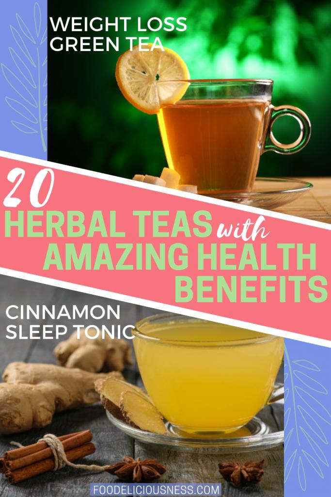 Weight Loss Green Tea and cinnamon sleep tonic