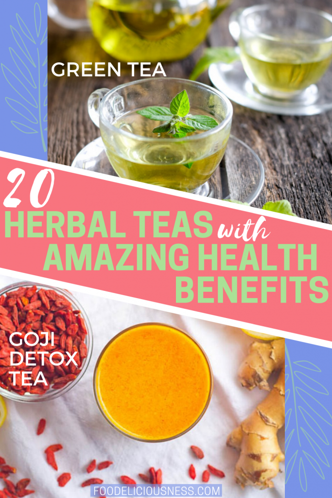 green tea and goji detox tea