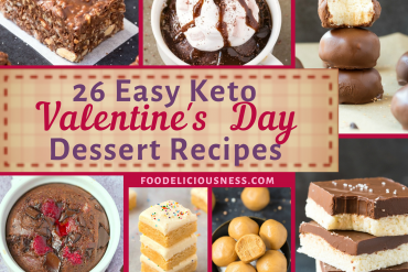 EASY KETO VALENTINES DAY DESSERT RECIPES