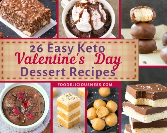 EASY KETO VALENTINES DAY DESSERT RECIPES