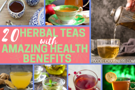 HERBAL TEAS WITH AMAZING HEALTH BENEFITS