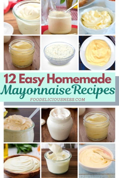 Are you looking for the right Easy Homemade Mayonnaise Recipe? While there are so many recipes you can find, you are also confused about which one to choose. Indeed, the ingredients are usually the most important for us, whether the simplest ones or if that fits your diet. However, we also prefer the easy ones at the same time.For this reason, here are 12 Easy Homemade Mayonnaise Recipes we collected for you to choose from. #easyhomemademayonnaise Homemademayonnaiserecipes @Foodeliciou...