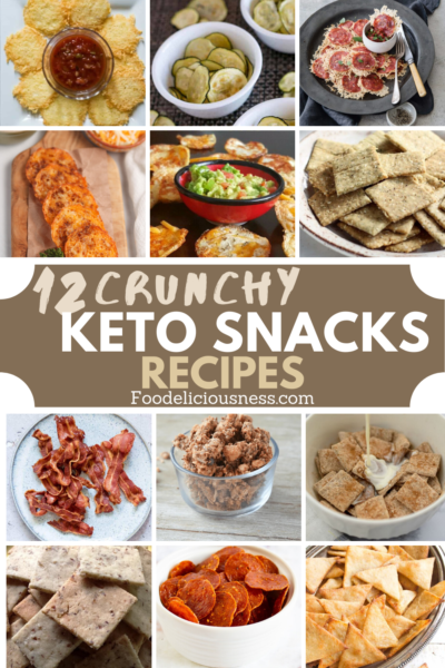 If you are looking for Crunchy Keto Snacks Recipes that are easy and healthy to satisfy your cravings, we have them here for you. Definitely crispy and tasty, and will still keep you in your diet. You will surely love these crispy and crunchy keto snacks as they are very easy to do as well. From the simplest single ingredient bacon to a blend of several ingredients, they are certainly satisfying. You can eat them as it is or get your favorite dip. #Crunchyketosnacks #Crispyketo snacks @Foo...