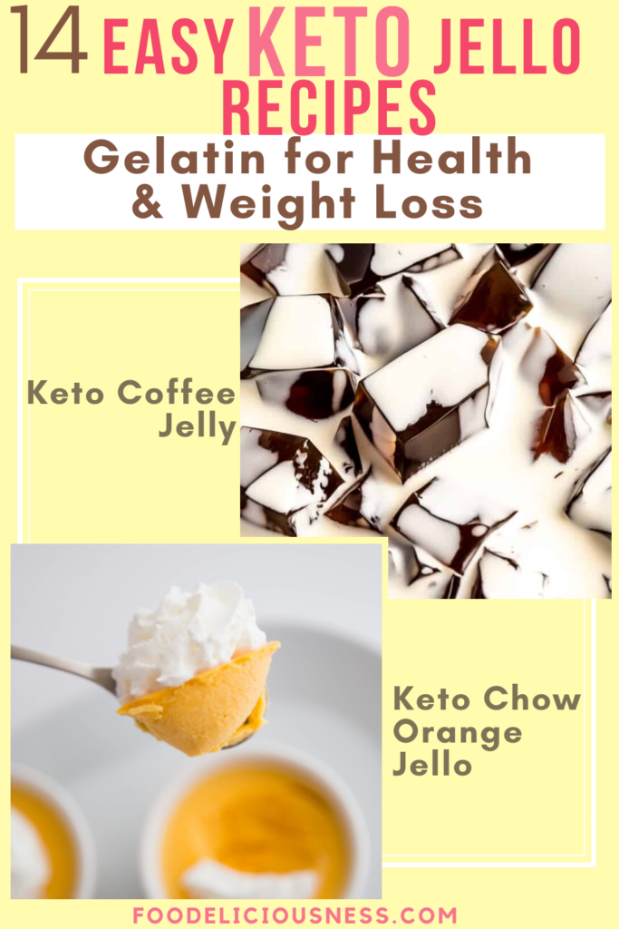 Easy Keto Jello Recipes Keto Coffee Jelly and Keto Chow Orange Jello
