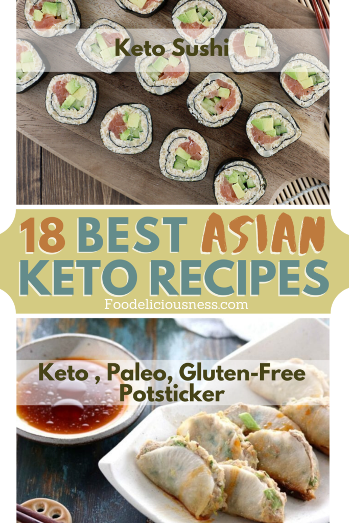 Best Asian Keto Recipes Keto Sushi and Keto Paleo Gluten Free Potsticker