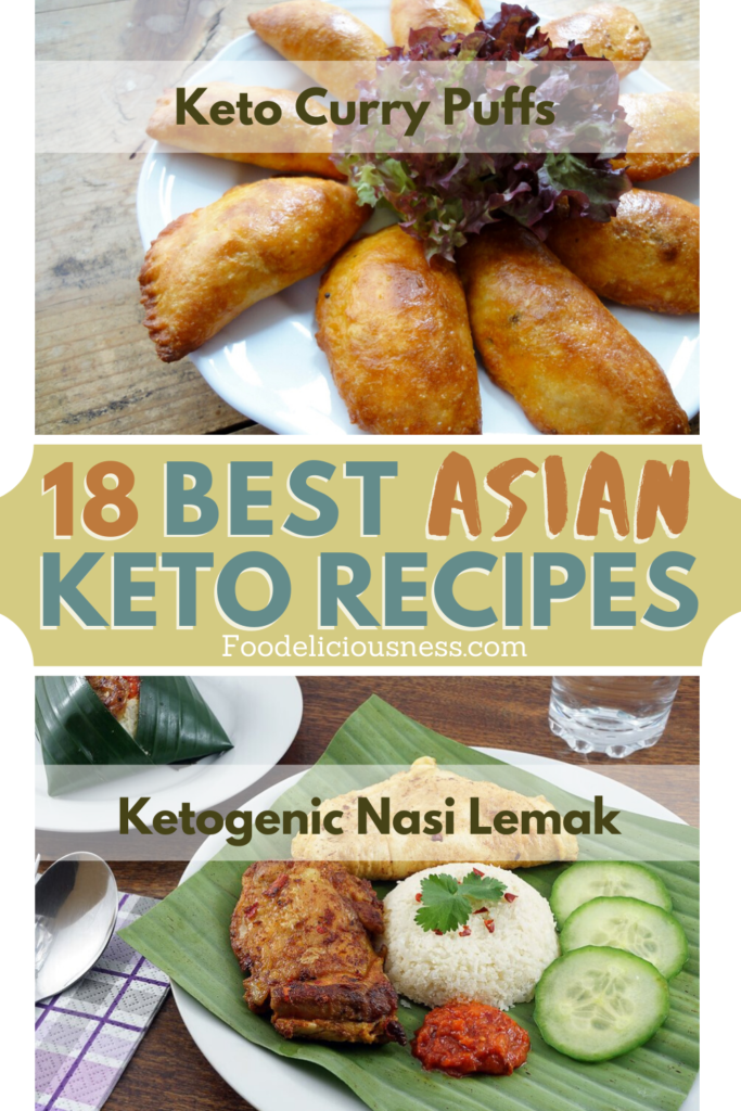 4 Best Asian Keto Recipes Keto Curry Puffs and Nasi Lemak