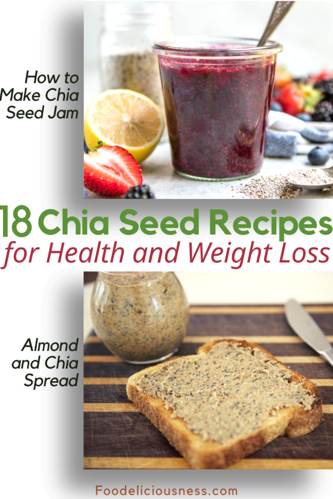 How to make Chia Seed Jam and Almond and Chia Spread