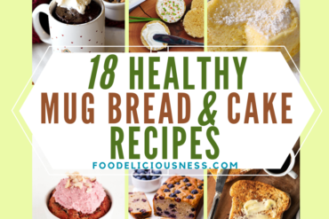healthy mug bread and cake recipes
