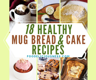 healthy mug bread and cake recipes
