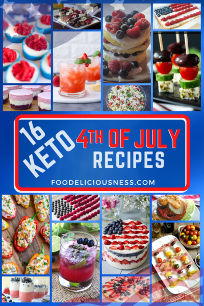 Keto 4th of July Recipes are thought to be challenging because most of the menus include desserts and appetizers that are indeed sweet and full of carbohydrates. Celebrating the 4th of July while on Keto Diet is not that difficult actually. Just stick to basics in preparations of your menu and everything will be fine. #Keto4thofJulyrecipes #Lowcarb4thofJulyrecipes #Ketodietrecipes #4thofJulyrecipes #Lowcarbewcipes @Foodeliciousness