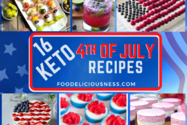 Keto 4th of July Recipes