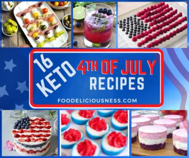 Keto 4th of July Recipes