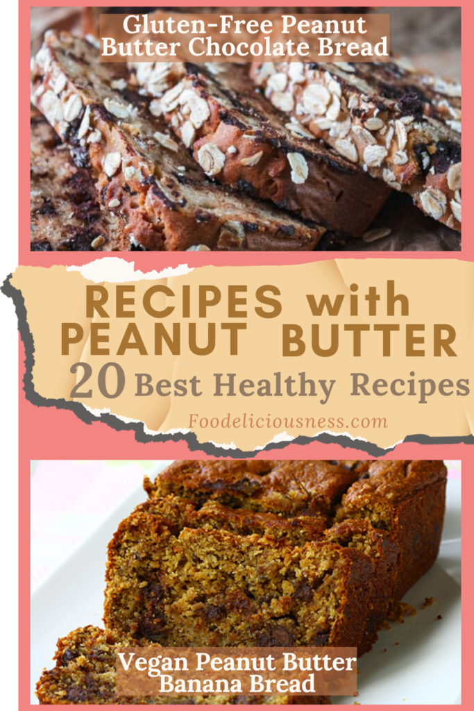 Gluten Free Peanut Butter Chocolate Bread and Vegan Peanut Butter Banana Bread 1