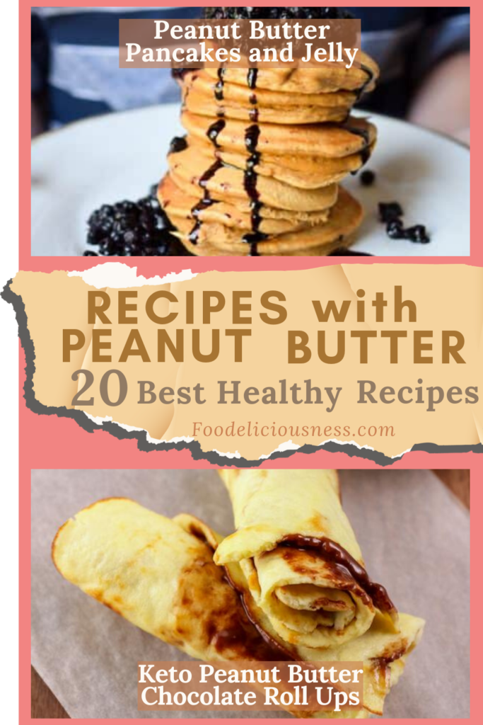 Peanut Butter Pancakes and Jelly and Keto Peanut Butter Chocolate Roll Ups