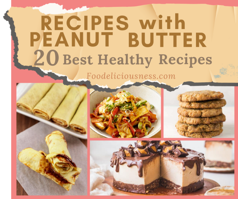Recipes with Peanut Butter