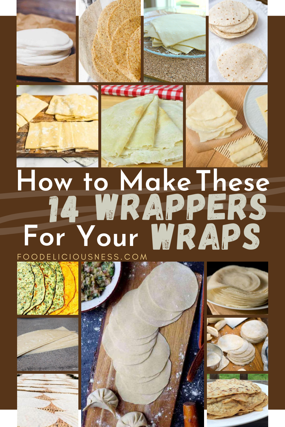 Tortillas, spring rolls, egg rolls, and samosas are wraps. We can also consider dumplings, wonton, and gyoza too simply because there are fillings in each of them. Do you know how to make wrappers for your wraps? I think the most common that you probably have thought of the easiest are the leaves of lettuce or cabbages. How about the others? If you are looking for these recipes, you are on the right page. #homemadewrapper #tortillawrapper #homemadedumpling #howtomakespringroll @Foodelici...