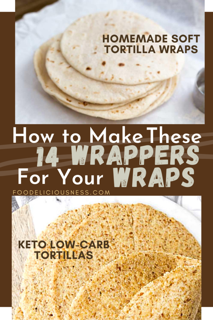 How to make Wrappers Homemade soft tortilla wraps and Keto Low Carb Tortillas