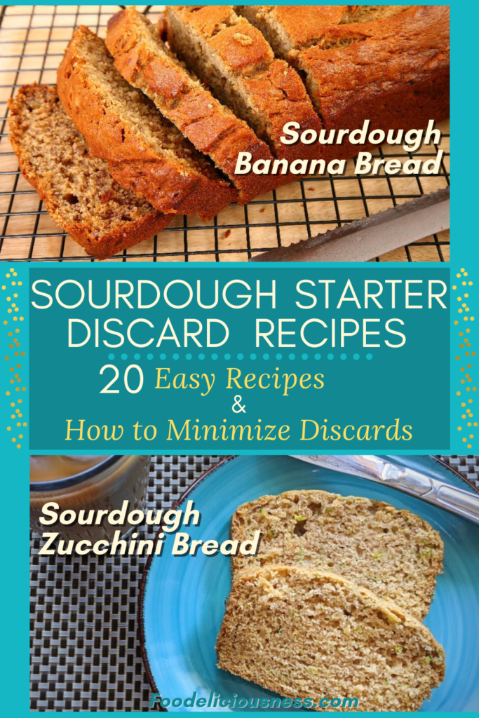 Sourdough Banana Bread and Sourdough Zucchini Bread