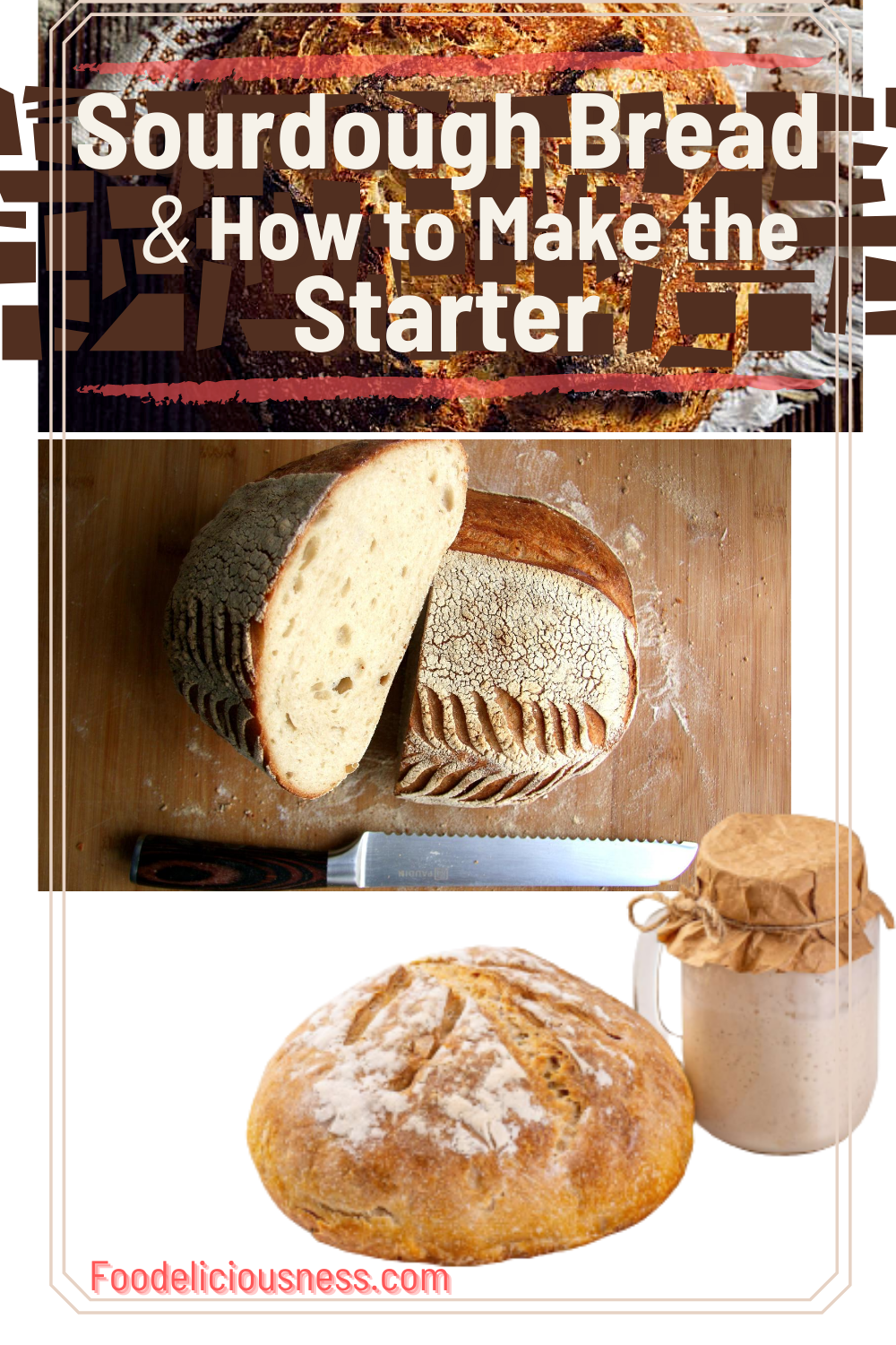 Sourdough bread is a slow-fermented traditional bread that dates back to 3000 BC in ancient Egypt Furthermore, the Sourdough Starter is a fermented mix of flour and natural yeasts that help this bread rise. This sourdough starter is what makes this bread a healthier alternative from other regular bread. Let\'s learn a little more about the Sourdough bread and starter. #Sourdoughbreadrecipe #sourdoughstarterrecipe #Bestsourdoughbread @Foodeliciousness