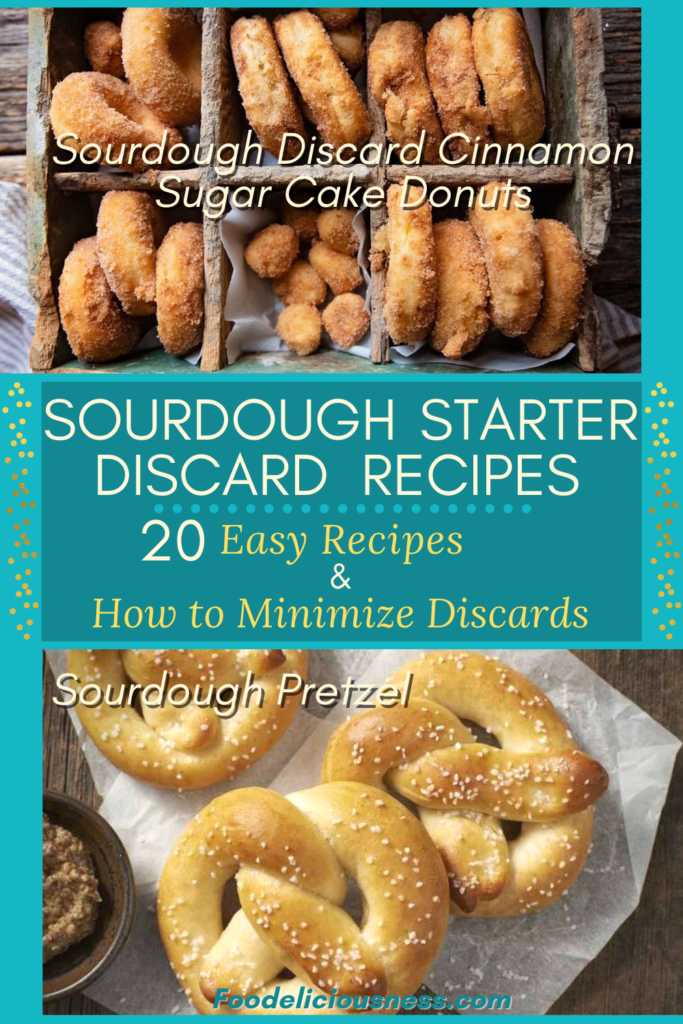 Sourdough Discard Cinnamon Sugar Cake Donuts Sourdough Pretzel
