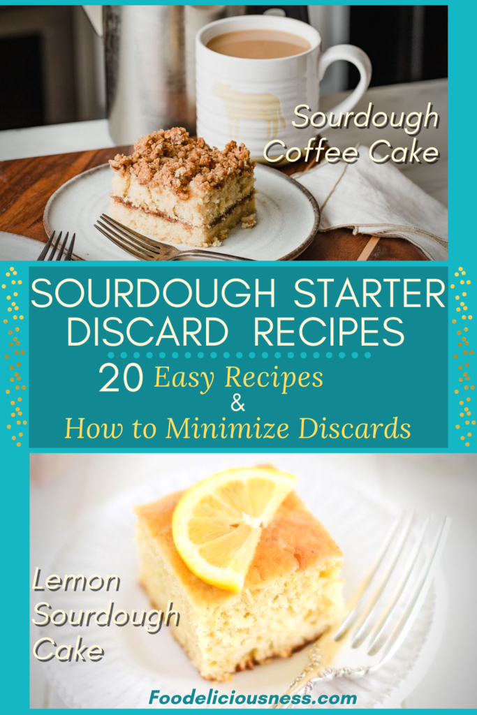 Sourdough Starter Discard Recipes Sourdough Coffee Cake Lemon Sourdough Cake