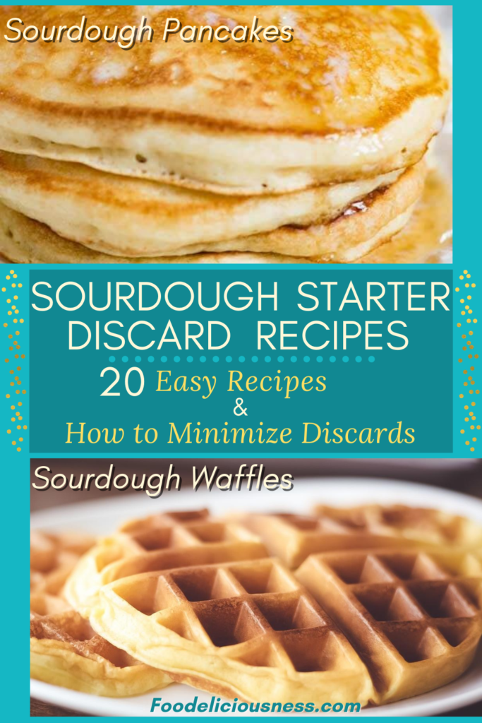Sourdough Starter Discard Recipes Sourdough Pancakes and Sourdough Waffles