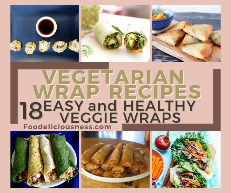 Vegetarian Wrap Recipes