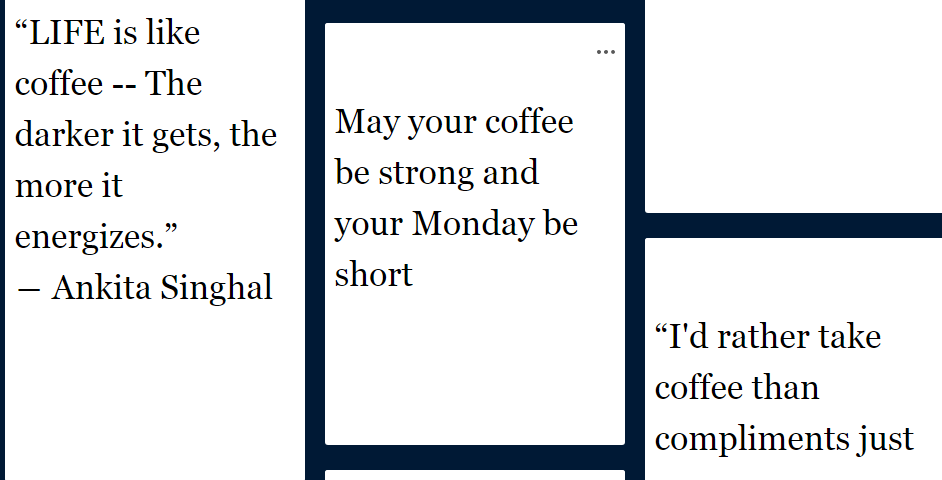 3 coffee quotes you will love