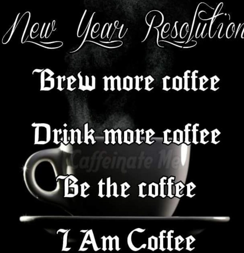 quotes about new year with coffee